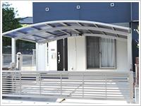 K様邸:オーバードア、カーポート、ハイスクリーンフェンス設置その他付帯工事