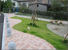 床上湊川付帯(公園復旧工事)
