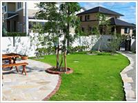 N邸 : 新築 庭工事